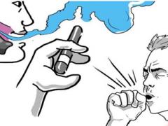 电子烟如何吐烟圈图解?