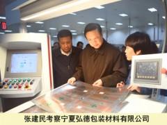 张建民在宁夏吴忠红寺堡区调查国烟扶贫工作