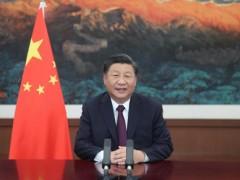 习近平在2020年中国国际服务贸易买卖会全球服务贸易峰会上致词