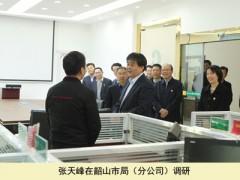 张天峰在韶山市烟草专卖局(分公司)调查