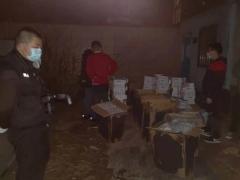 广州南沙警方联合区烟草专卖局打击走私卷烟犯罪团伙